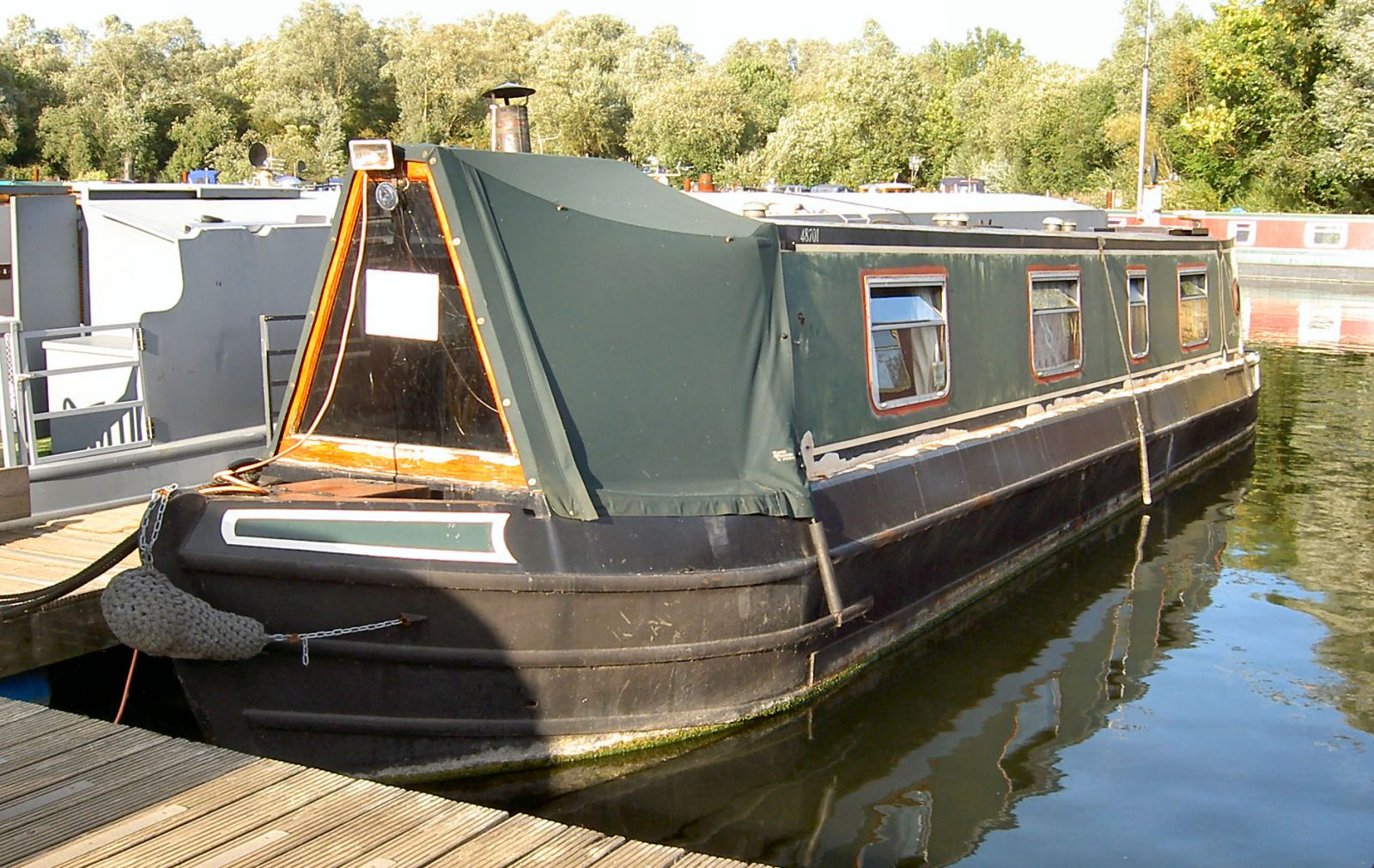 Dummy Narrowboat